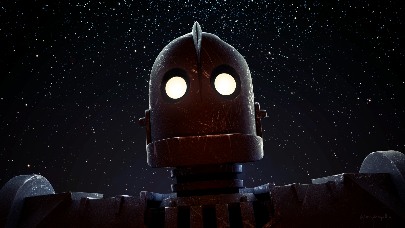 Стальной гигант / The Iron Giant background