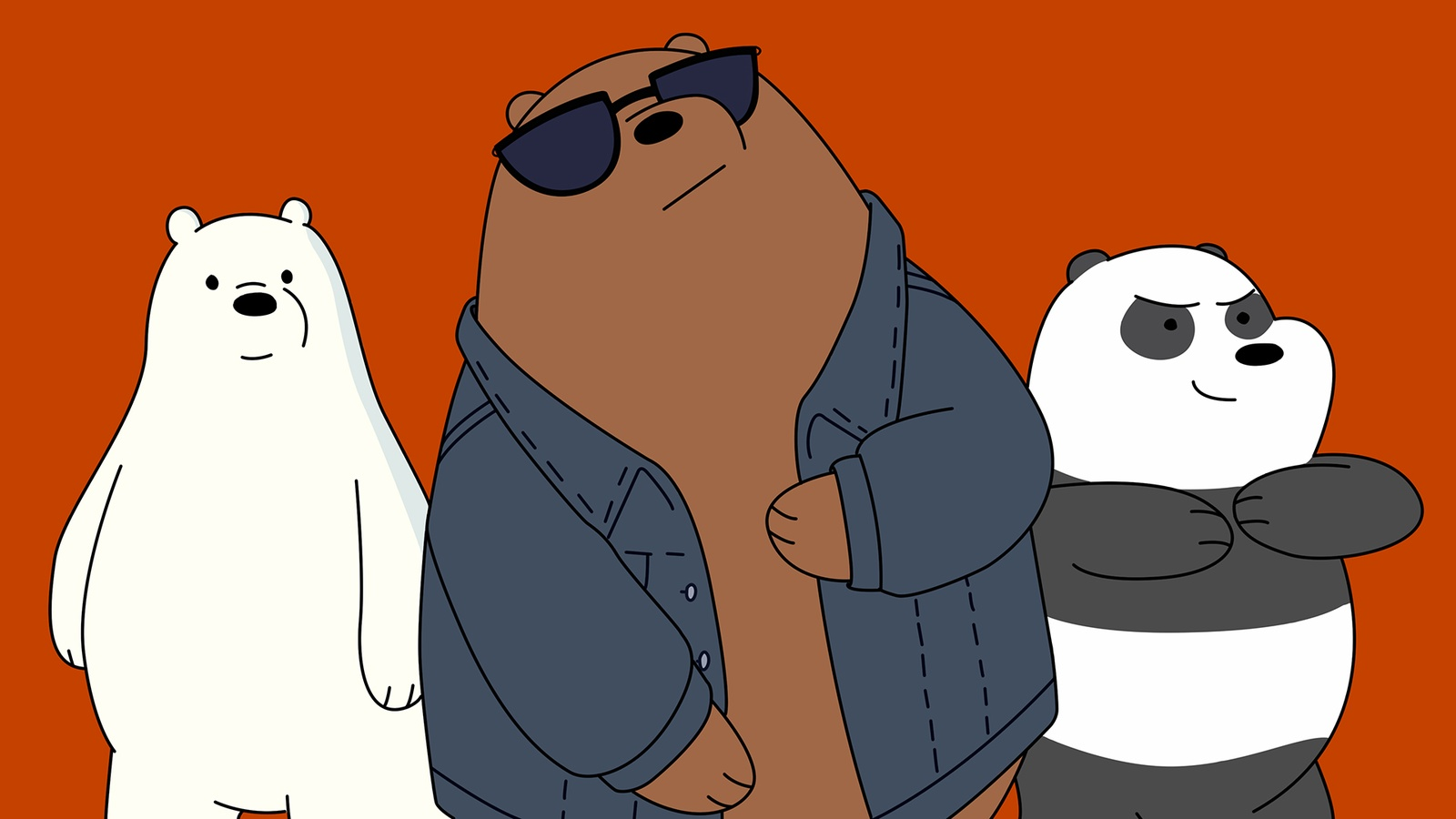Вся правда о медведях / We Bare Bears background