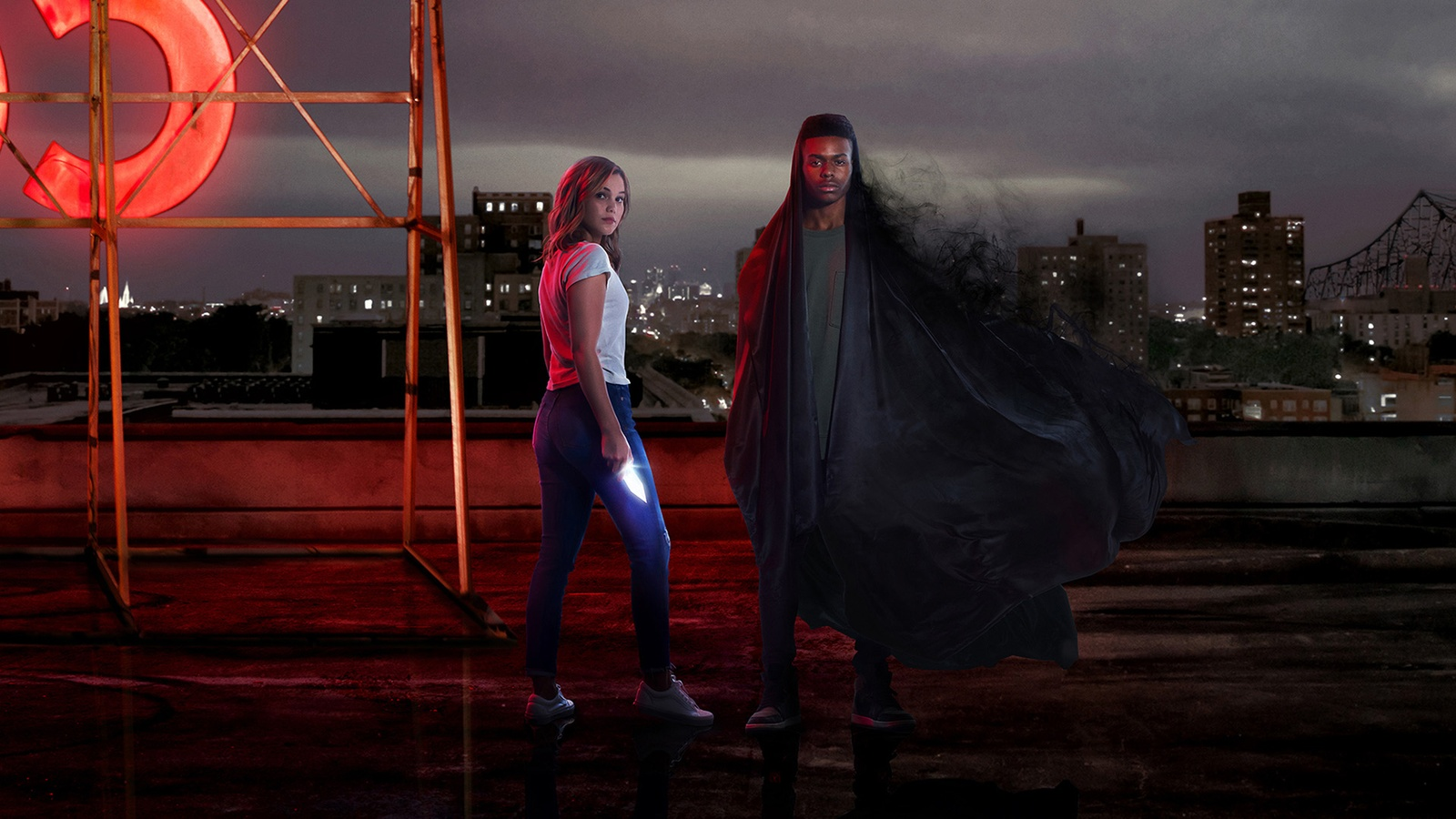 Плащ и Кинжал / Marvel's Cloak & Dagger background
