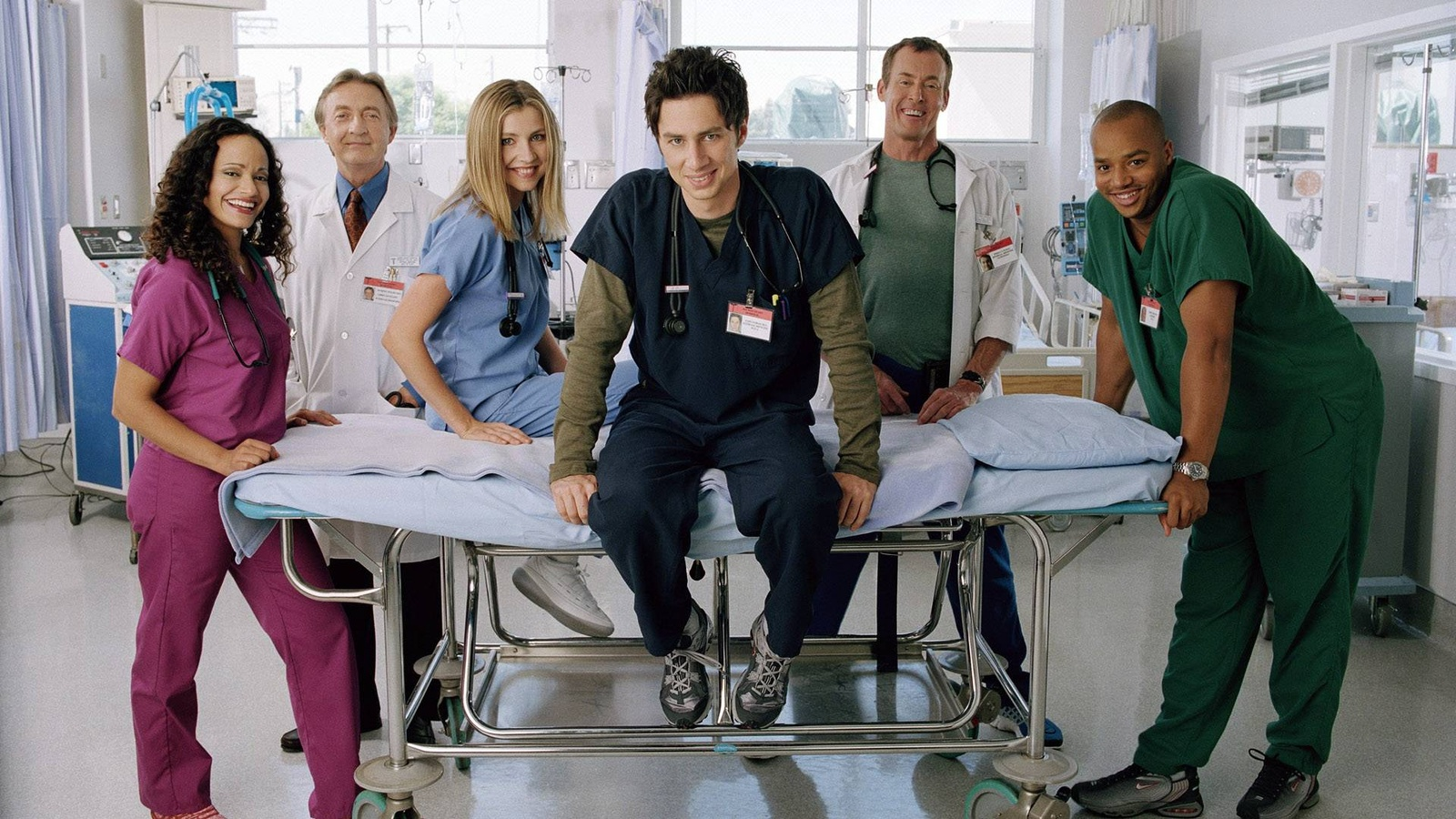 Клиника/Scrubs background