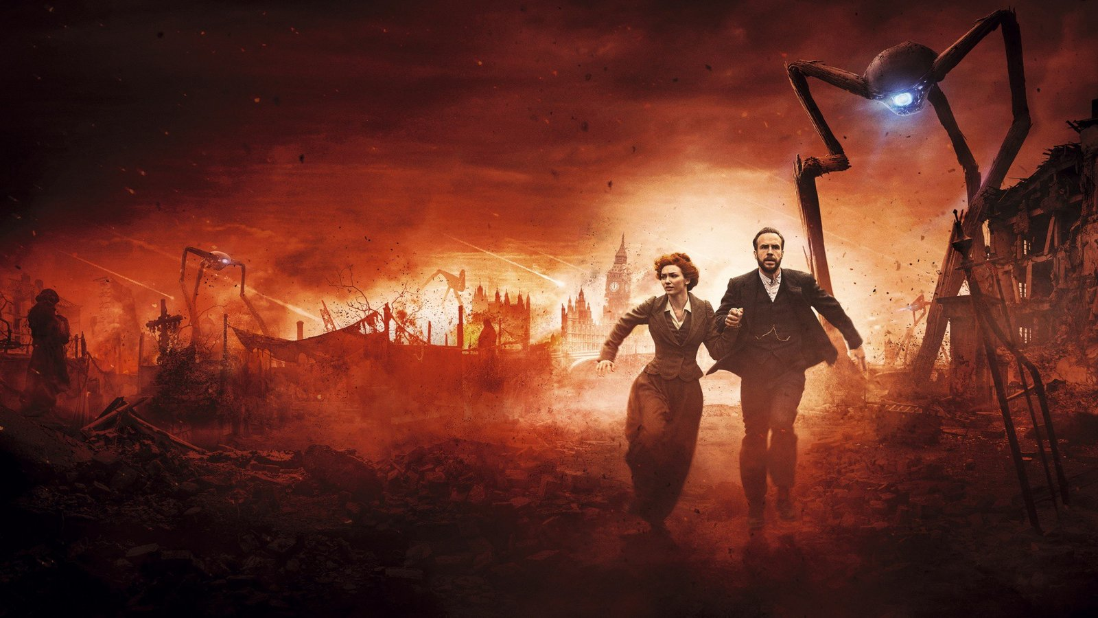 Война миров / The War of the Worlds background
