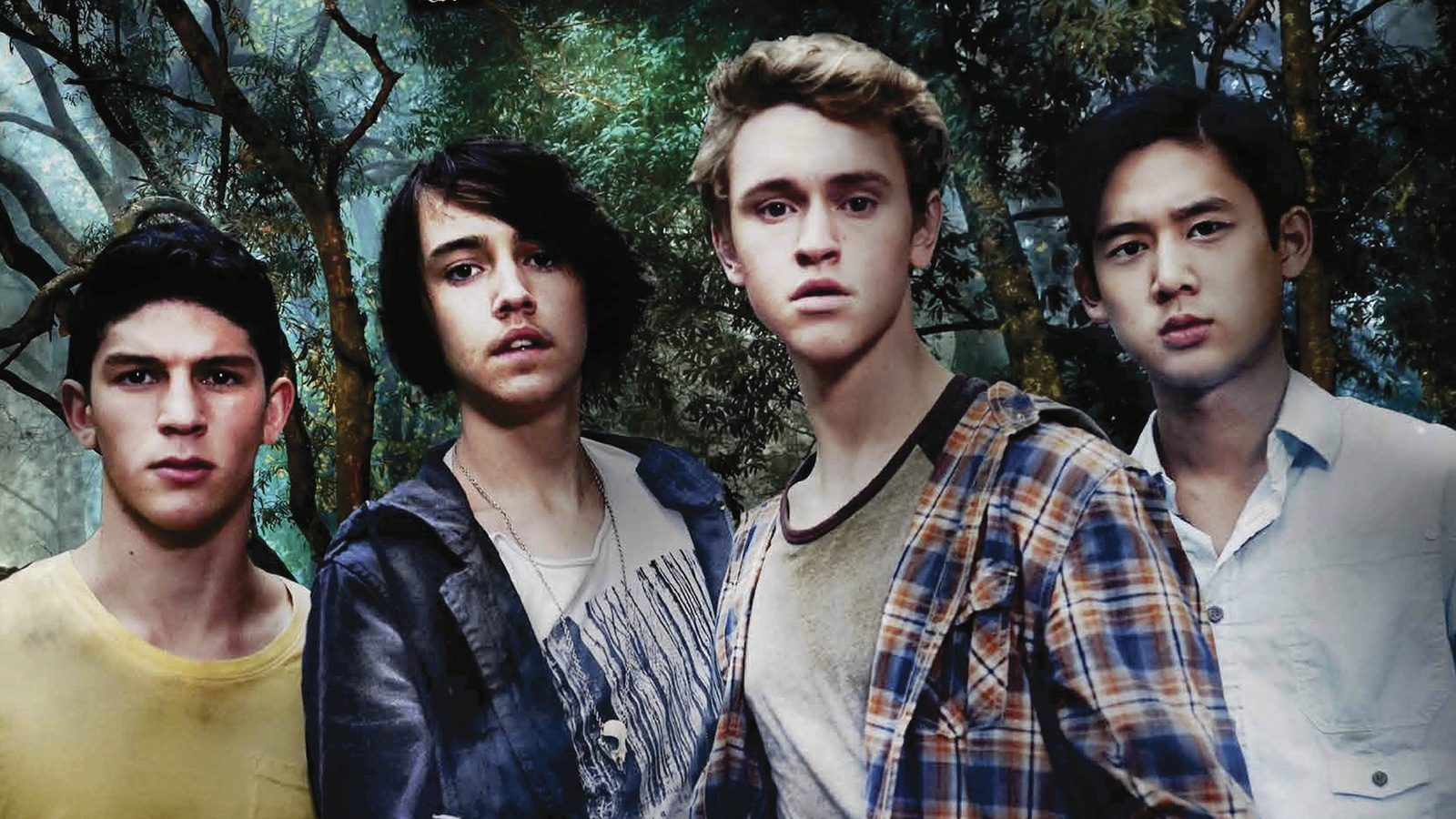 Потерянные/Nowhere Boys background