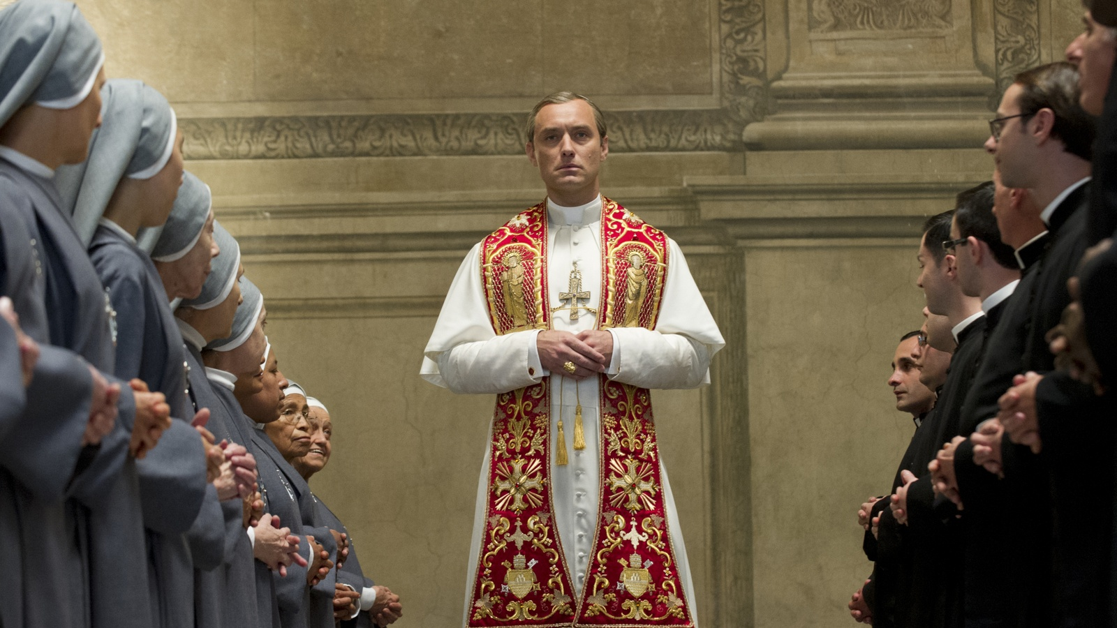 Молодой Папа/The Young Pope background