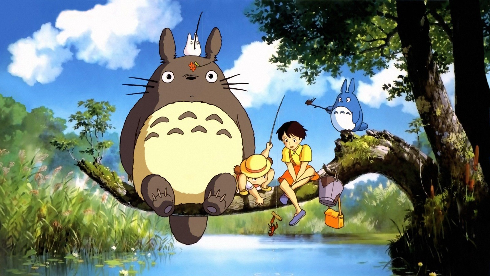 Мой сосед Тоторо / Tonari no Totoro background