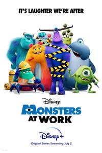 Постер мульт-сериала «Монстры за работой»