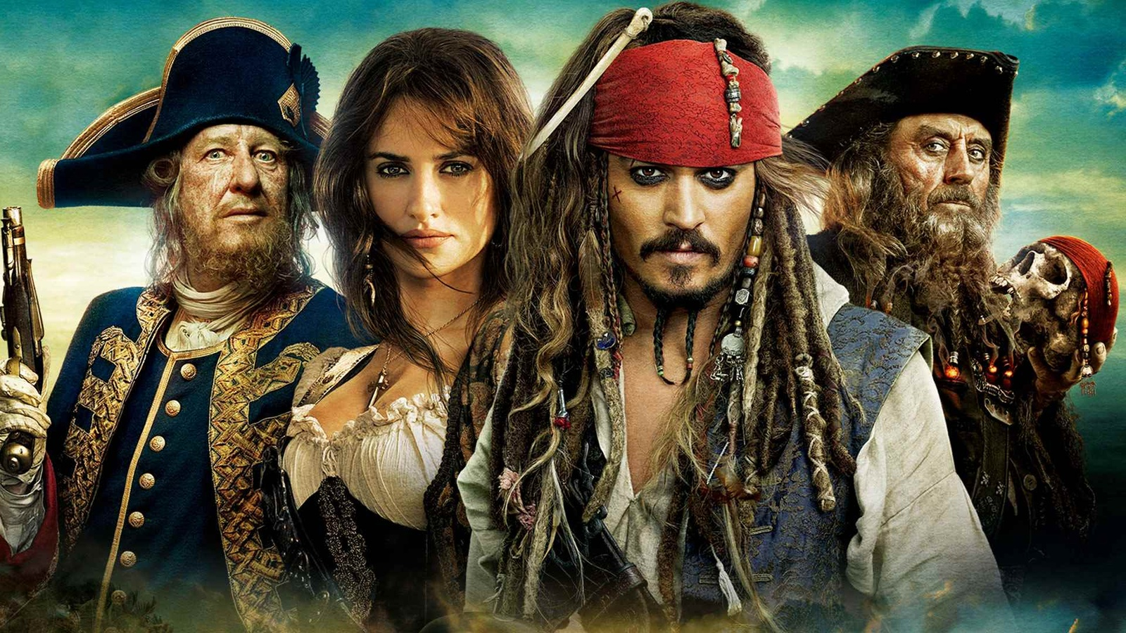 Пираты Карибского моря: На странных берегах / Pirates of the Caribbean: On Stranger Tides background