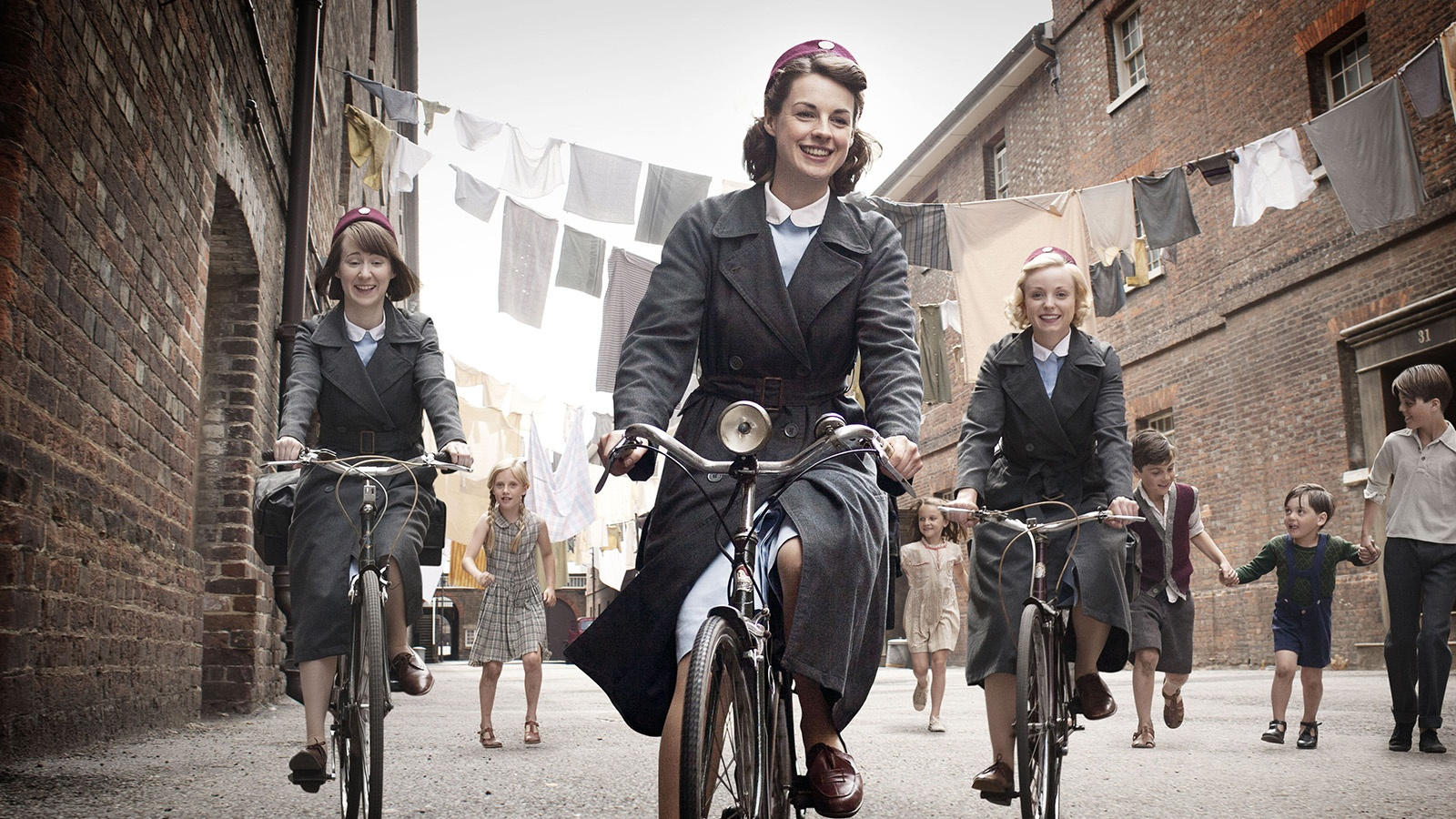 Вызовите акушерку/Call The Midwife background