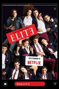 Постер сериала «Элита»