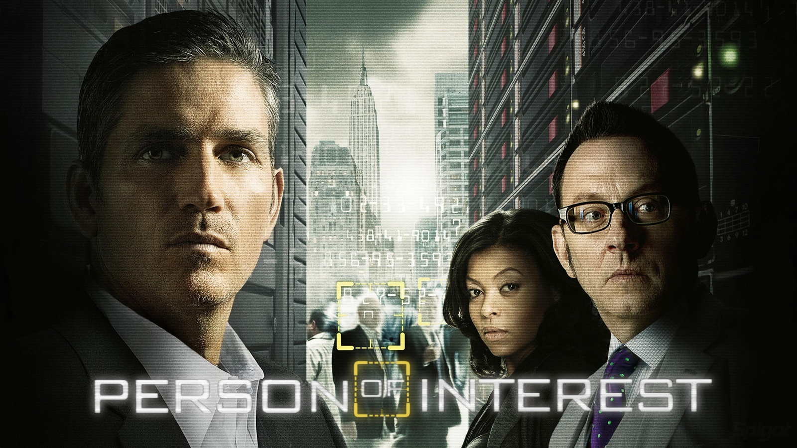 В поле зрения/Person of Interest background