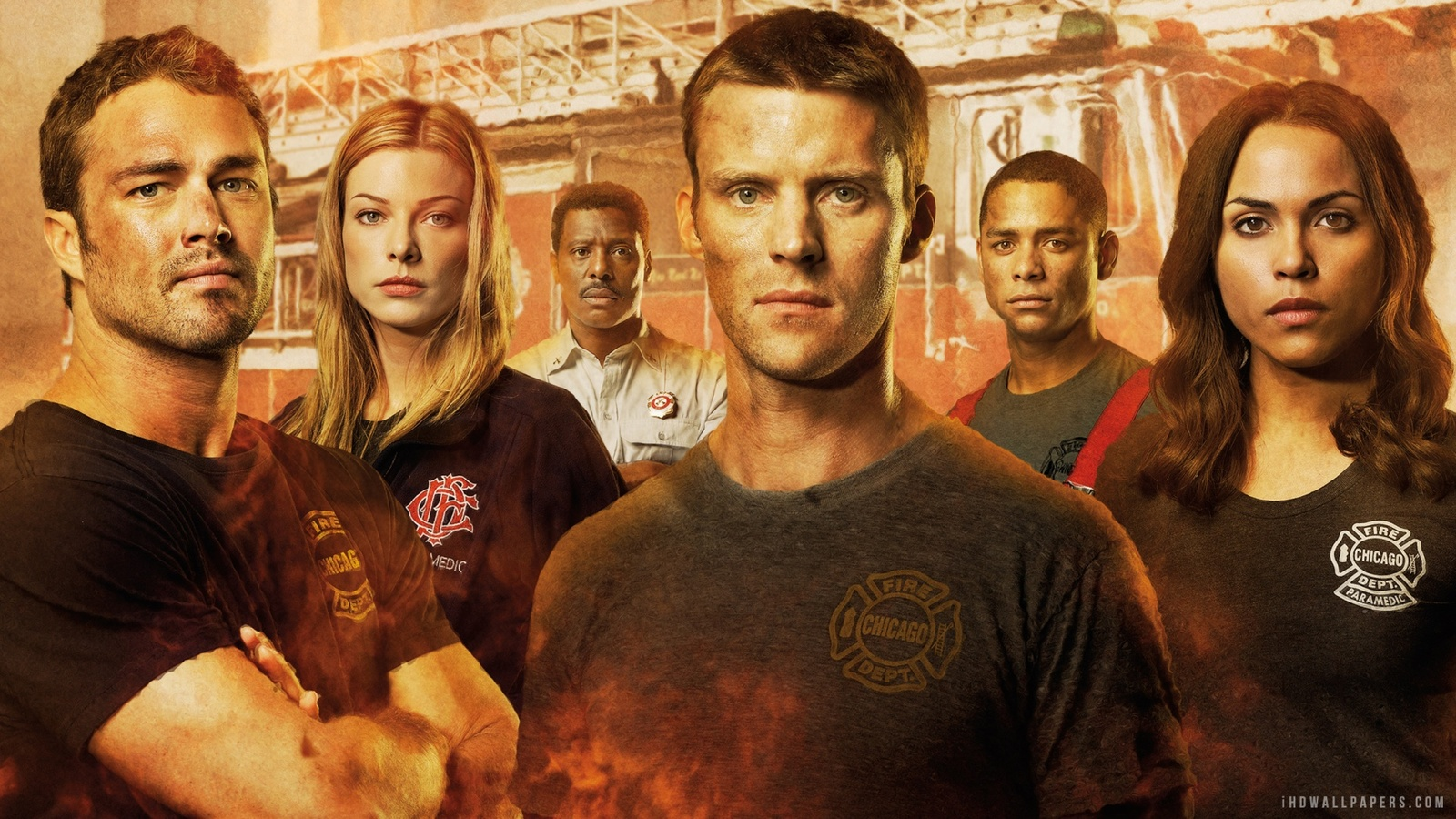 Пожарные Чикаго / Chicago Fire background