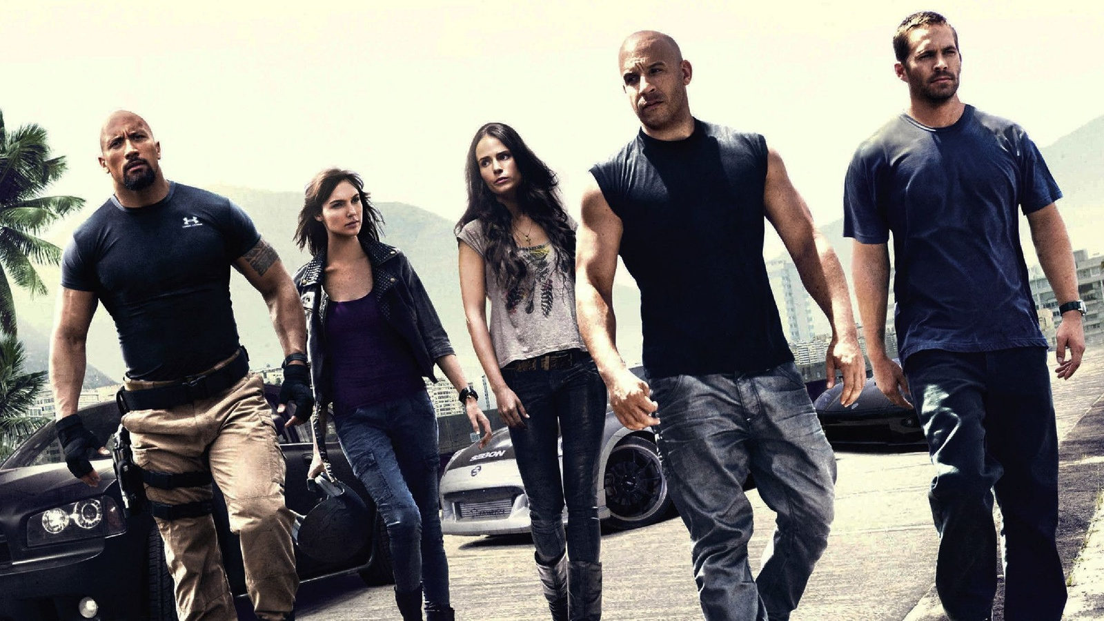 Форсаж 5 / Fast Five background