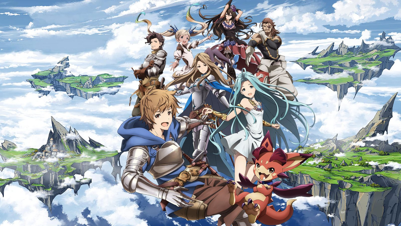 Повесть о Небесных островах / Granblue Fantasy The Animation