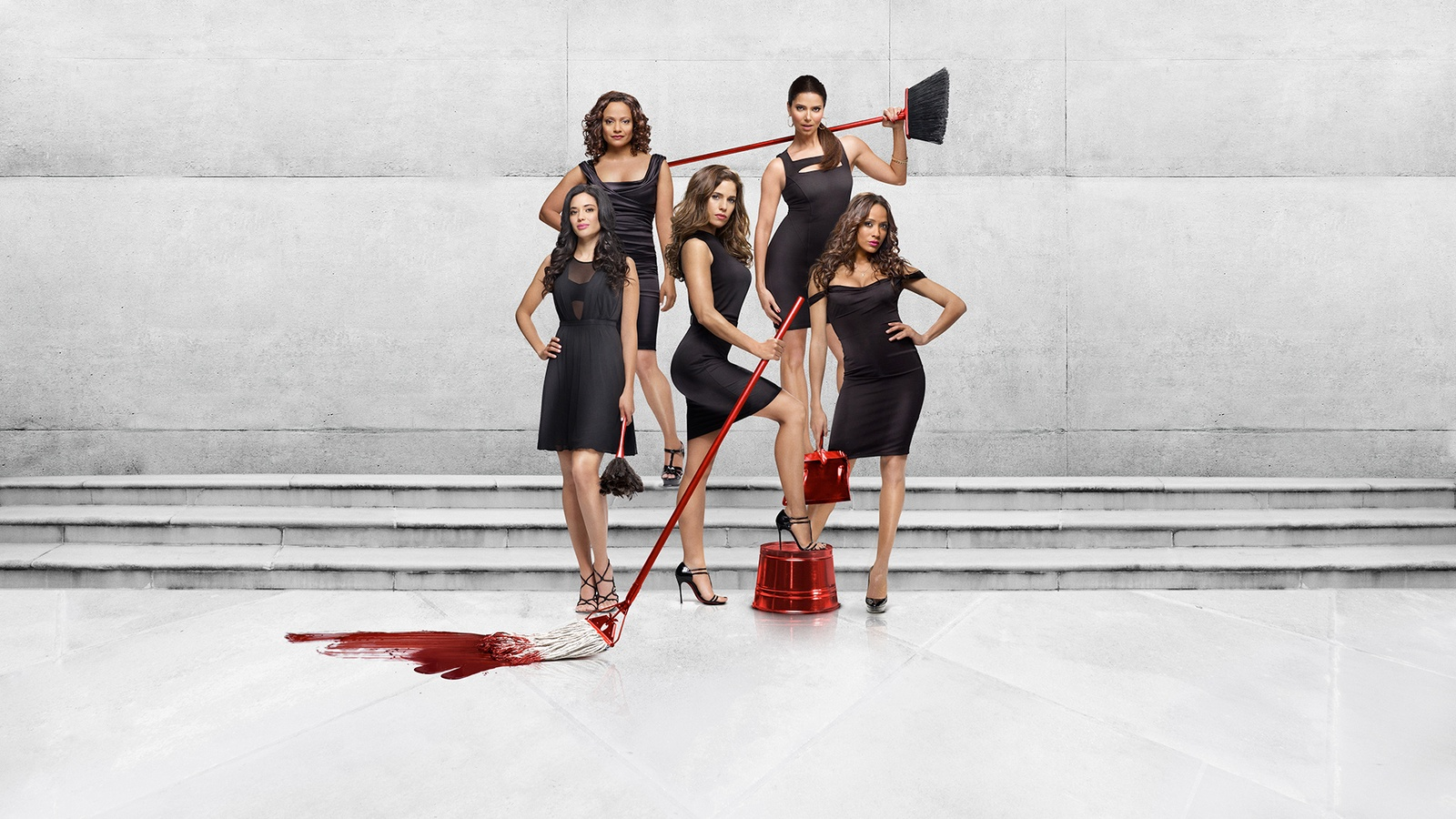 Коварные горничные/Devious Maids background