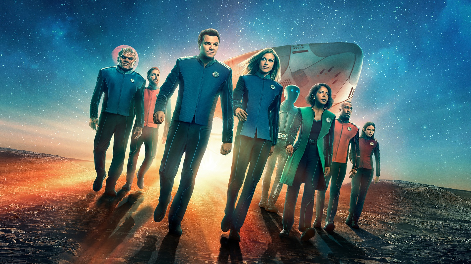 Орвилл / The Orville background