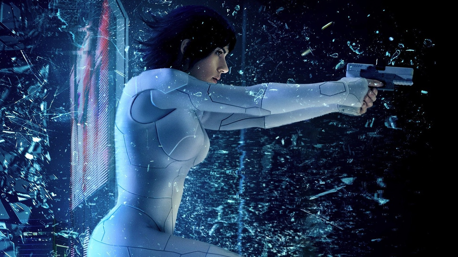 Призрак в доспехах / Ghost in the Shell background