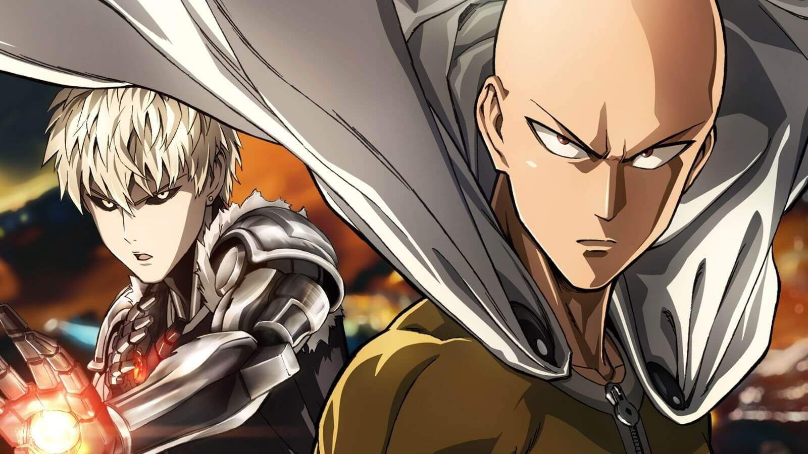 Ванпанчмен / One-Punch Man background