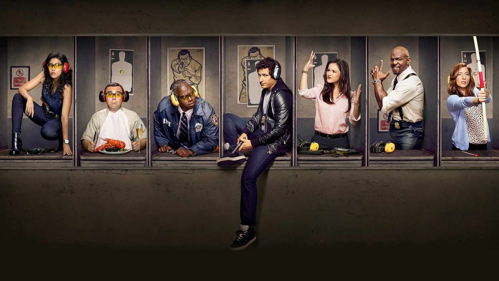 Бруклин 9-9 / Brooklyn Nine-Nine background
