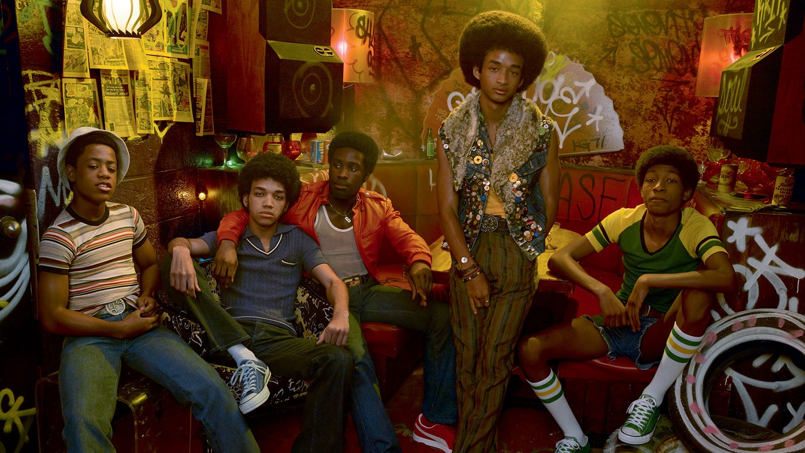 Отжиг/The Get Down background