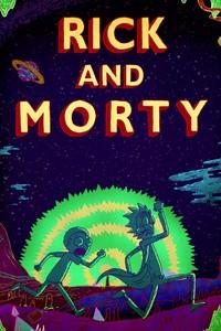 Постер мульт-сериала «Рик и Морти»