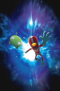 Постер мульт-сериала «Крайний космос»