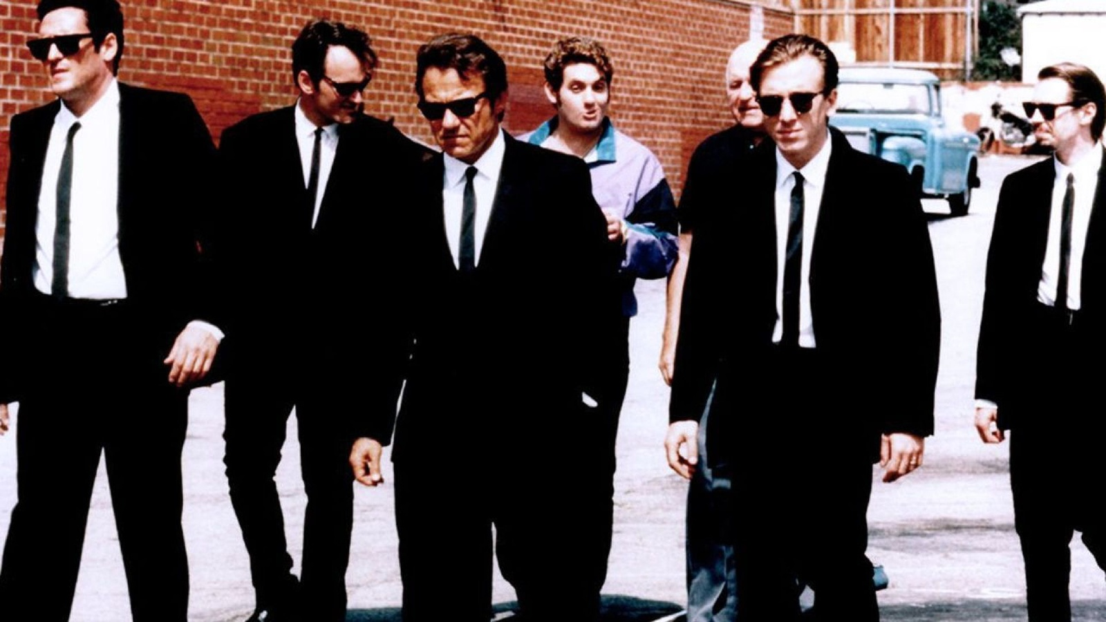 Бешеные псы / Reservoir Dogs background