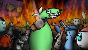 Смотреть сериал «Пол-литровая мышь»