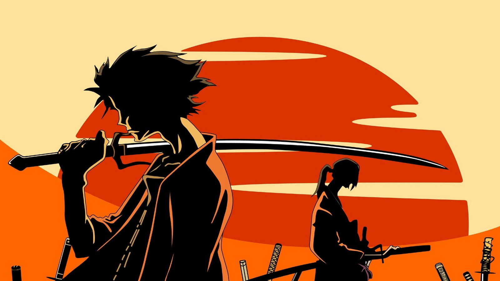 Самурай Чамплу/Samurai Champloo background