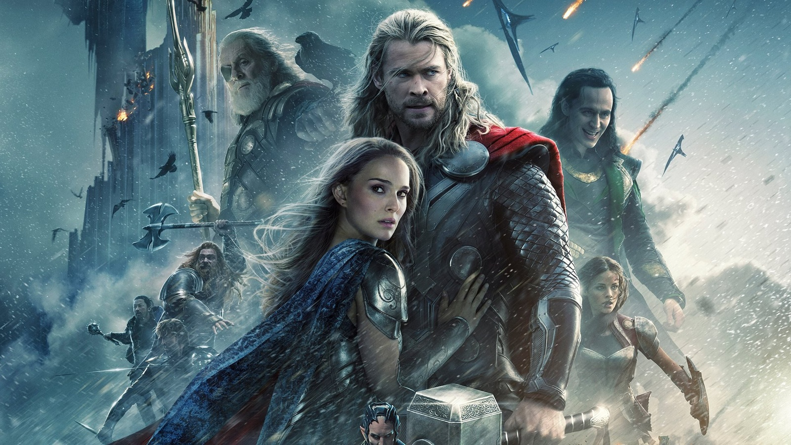 Тор 2: Царство тьмы / Thor: The Dark World background