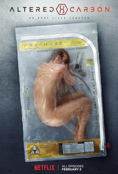 Постер сериала Видоизмененный углерод / Altered Carbon