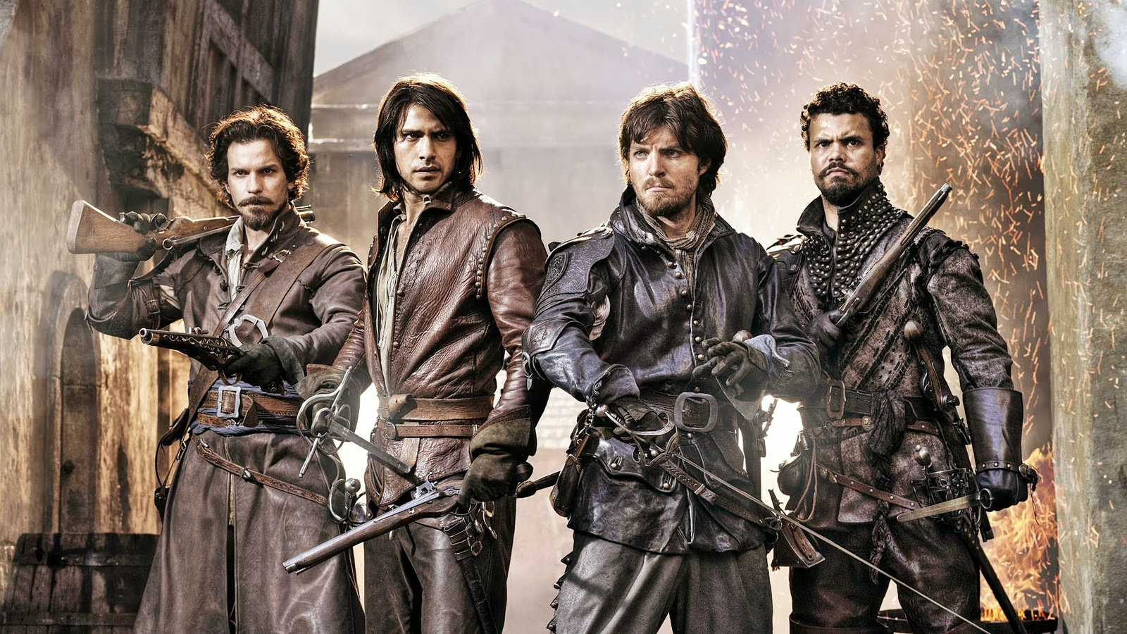 Мушкетёры/The Musketeers background
