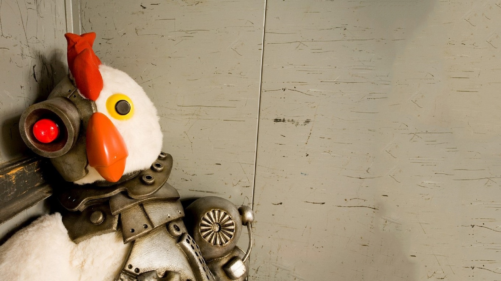 Робоцып / Robot Chicken background