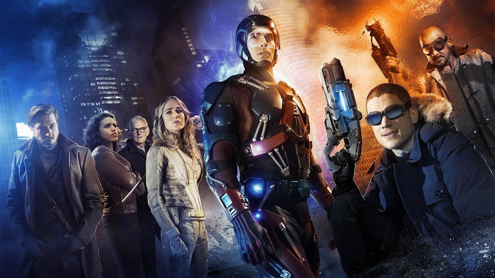 Легенды завтрашнего дня / DC's Legends of Tomorrow background