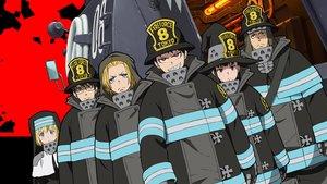 Смотреть сериал «Огненная бригада пожарных!»