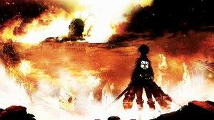 Смотреть сериал «Вторжение титанов»