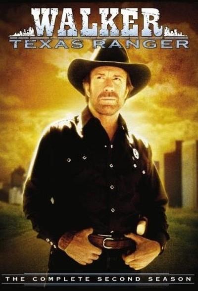Постер сериала Крутой Уокер / Walker, Texas Ranger