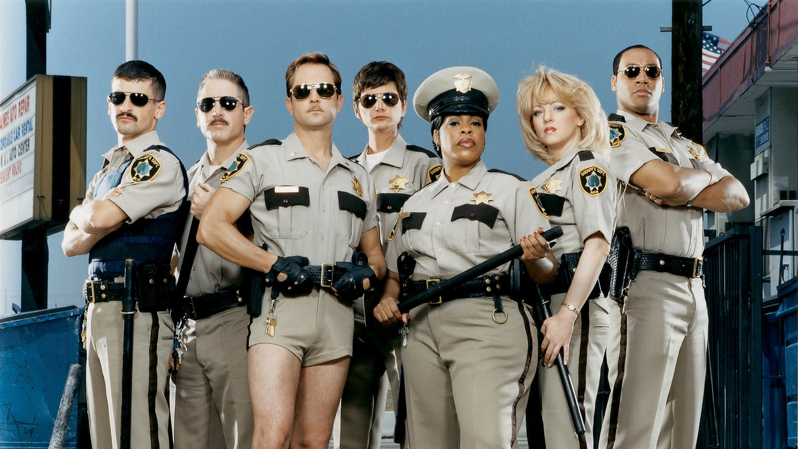 Рино 911 / Reno 911! background