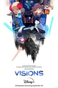 Постер сериал-анталогию «Звёздные войны: Видение»